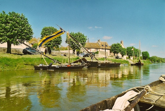débarcadère à Ousson mai 99
